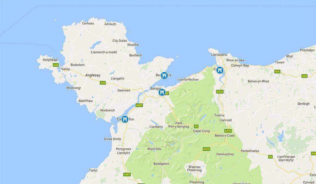 Los mejores castillos de Gales (Zona Norte)