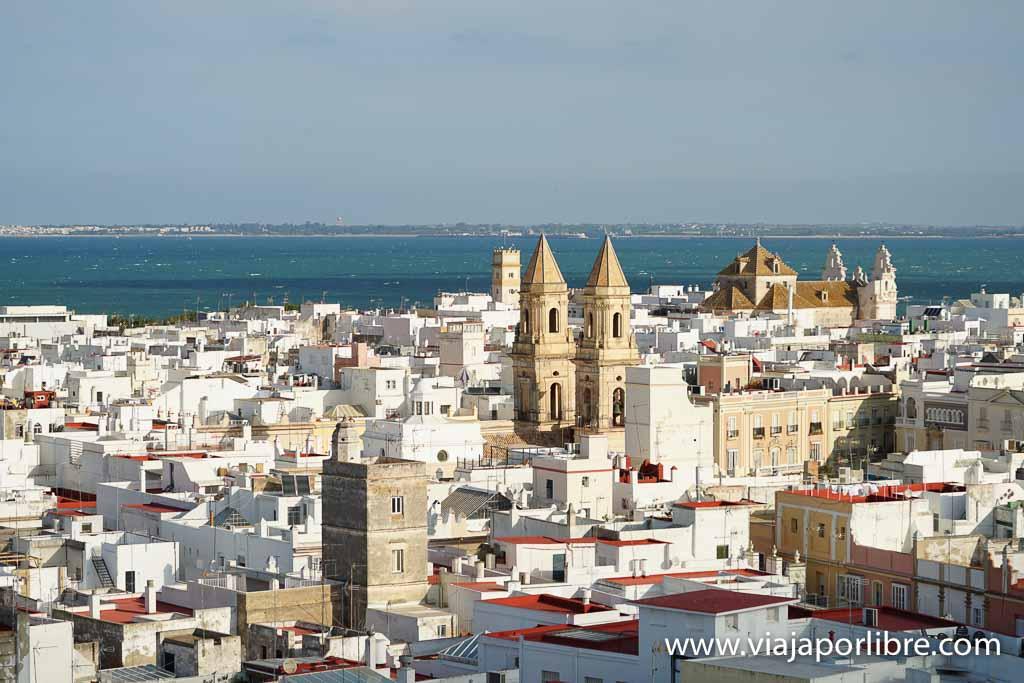 Cádiz desde la Torre Tavira