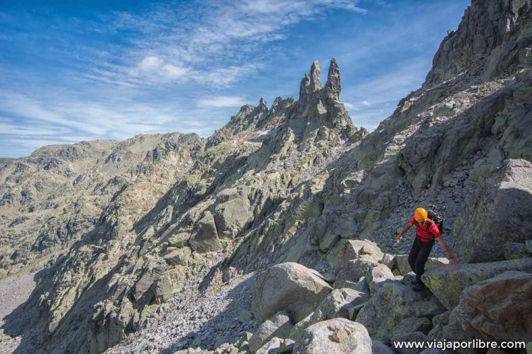 Ascensión al Casquerazo desde la Plataforma (Sierra de Gredos)