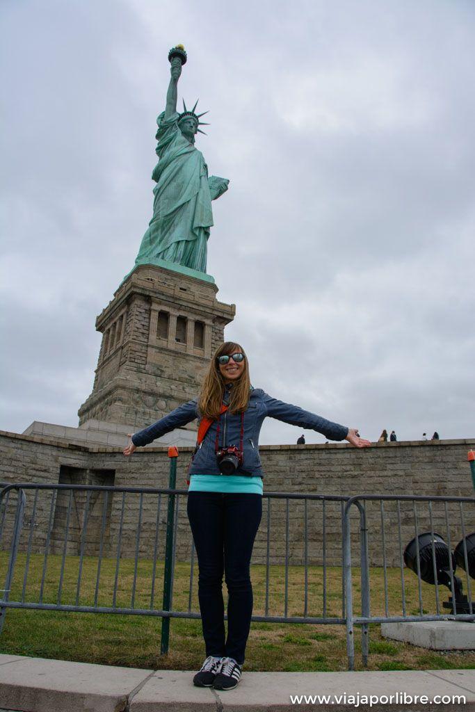 Como visitar la estatua de la libertad (Nueva York)