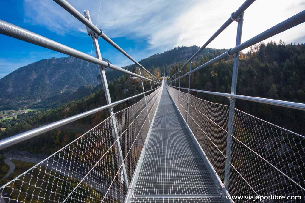 Highline179, uno de los puentes colgantes mas largos del mundo