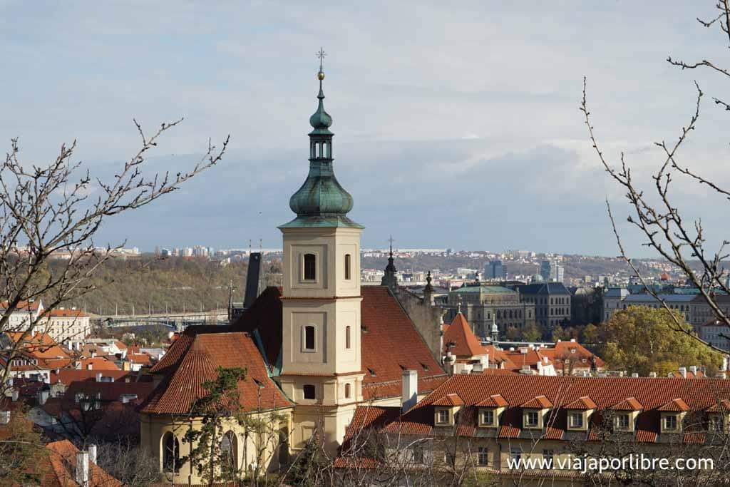 Praga desde el Monte Petrin