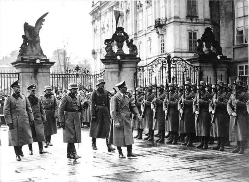 Castillo de Praga durante la Segunda Guerra Mundial