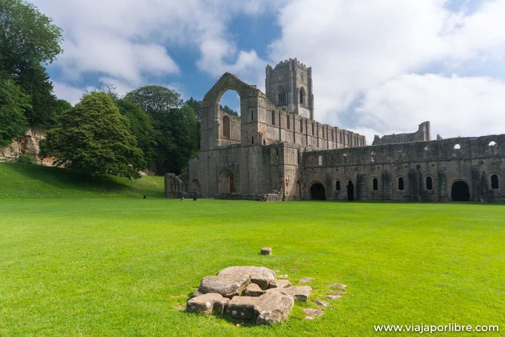 Abadía de Fountains - Fountains Abbey, Yorkshire