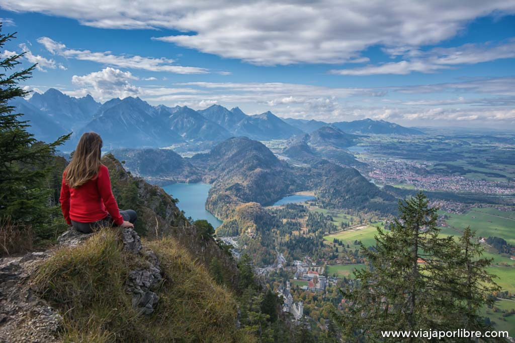 Ruta al castillo del rey loco (Neuschwanstein - Alemania)