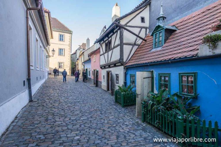El callejón del oro de Praga