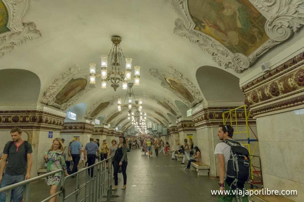 Metro de Moscu - Novokuznetskaya