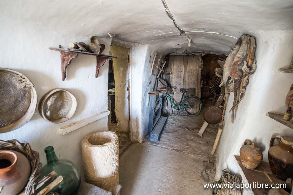 Interior de las cuevas de Dueñas