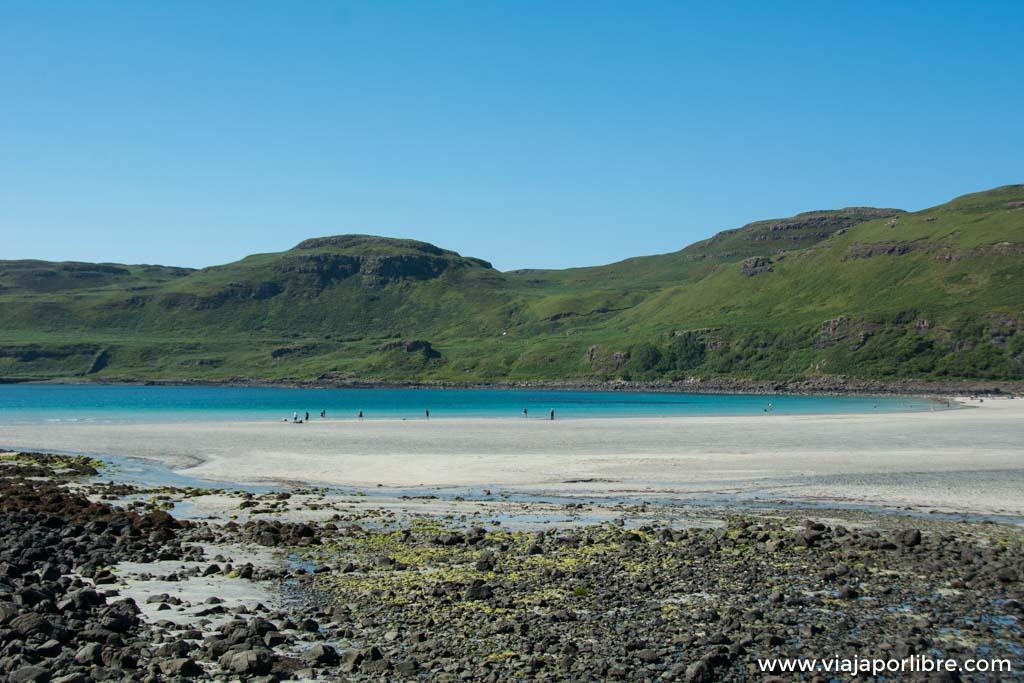 Un día de ruta en la isla de Mull, Escocia