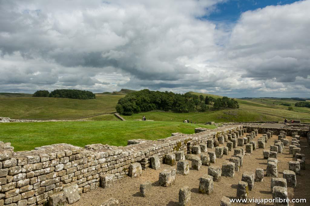 El muro de Adriano, la muralla mas larga de Europa