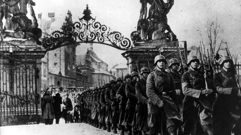 Castillo de Praga en la WWII