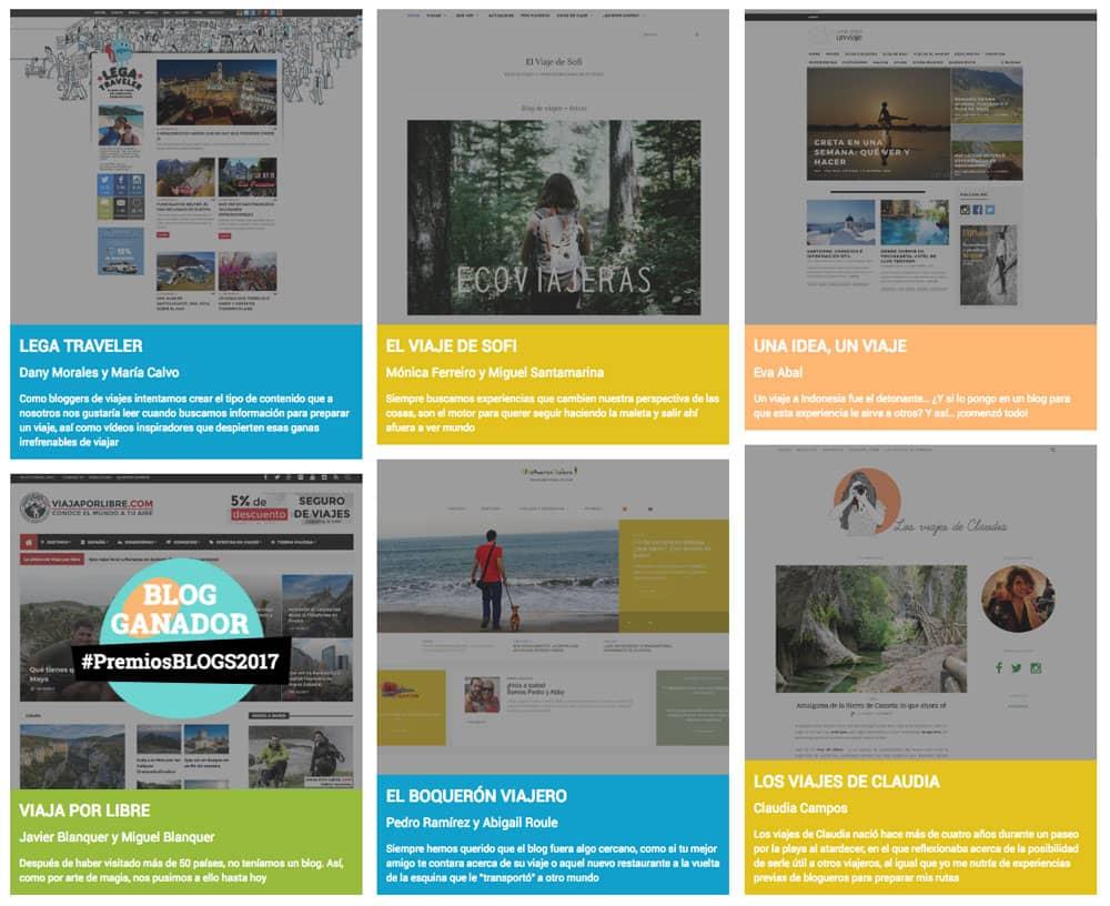 Blogs finalistas