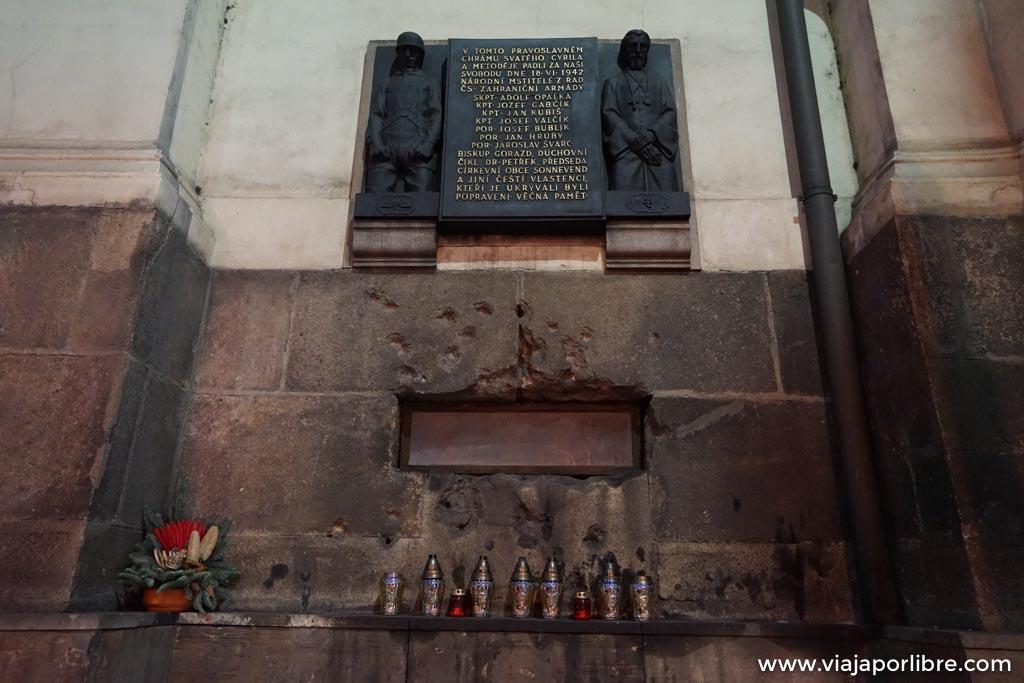 Visitas con historia, Praga y la operación antropoide