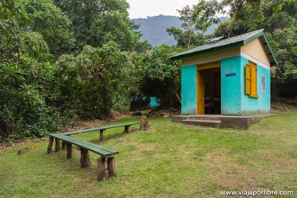 Rwenzori Etapa 1. Kilembe - Sine Hut