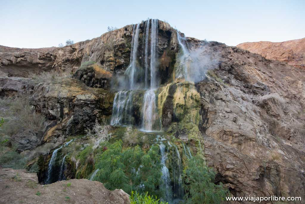 Las aguas termales de Hammamat Ma'In en Jordania