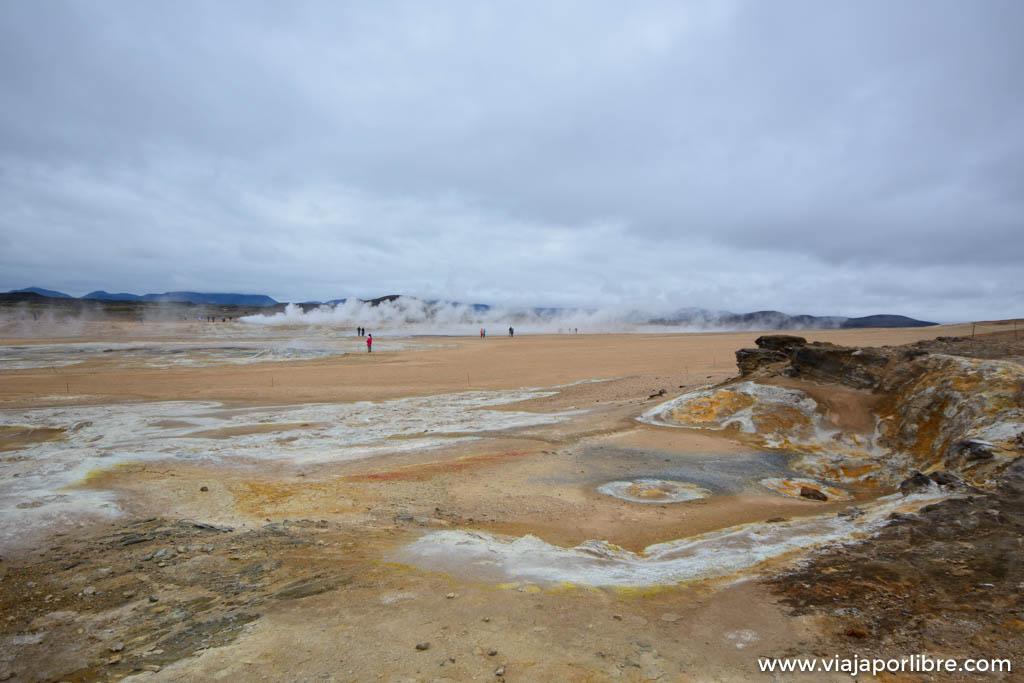 Visita a Hverir, Islandia en estado puro