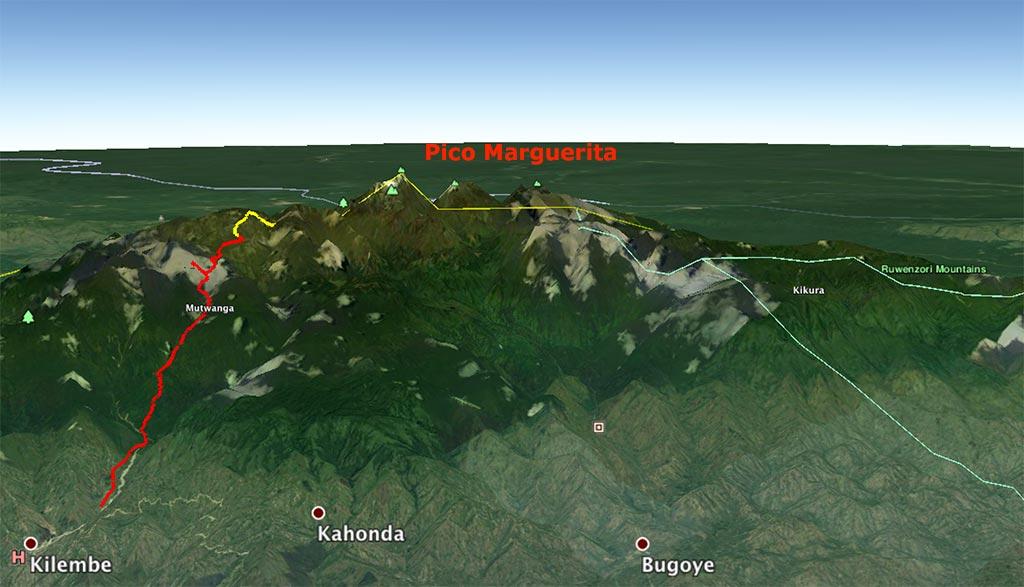 Rwenzori – Etapa 4. Bugata - Hunwick camp