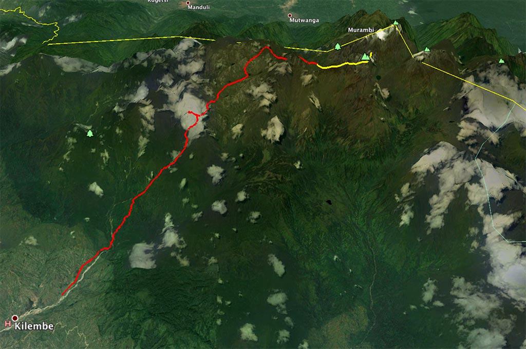 Rwenzori – Etapa 5. Hunwick's camp a Margherita Camp