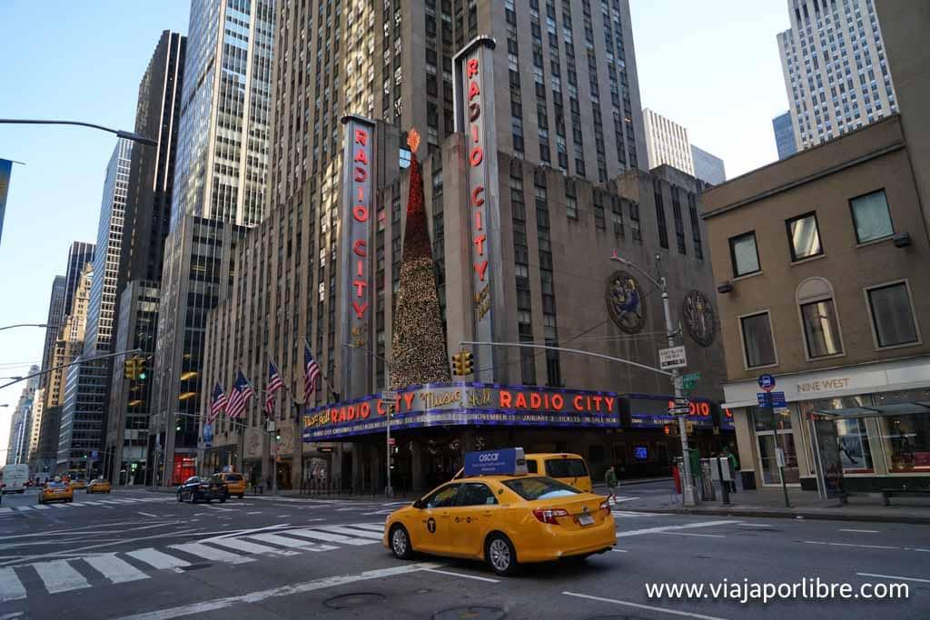Un taxi en Manhattan