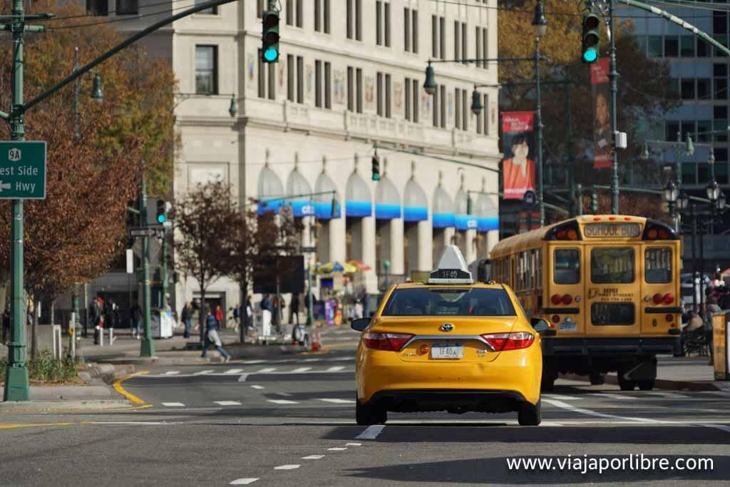 Cómo ir del aeropuerto al centro de Nueva York