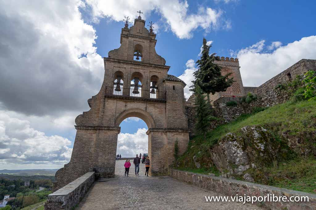 Entrada al Castillo de Aracena