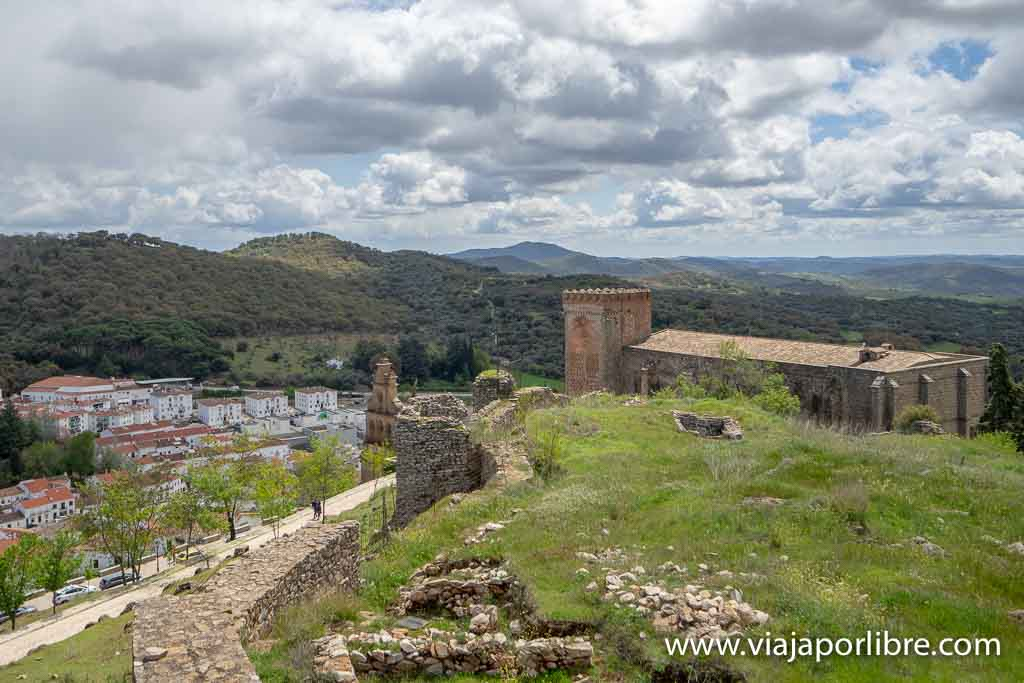 Desde la muralla del castillo