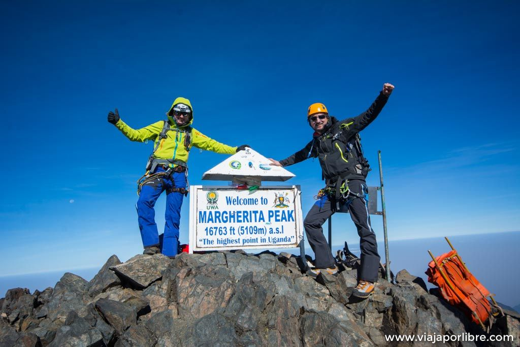 Rwenzori – Etapa 6. Ascensión al pico Margherita