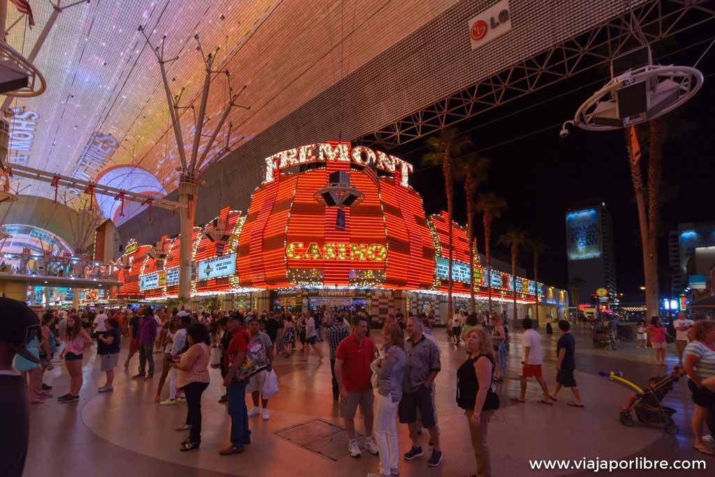 Fremont street - Las Vegas
