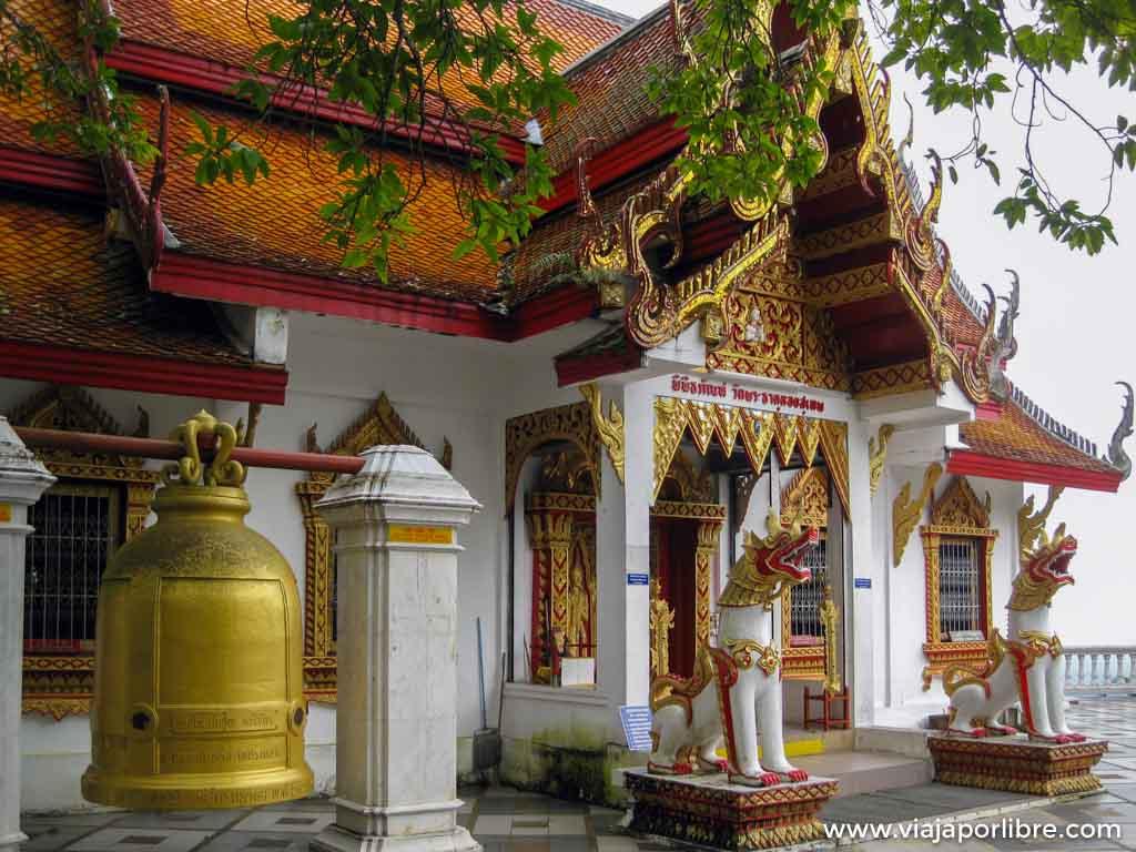 Chiang Mai, el templo Wat Phra That Doi Suthep (Tailandia)