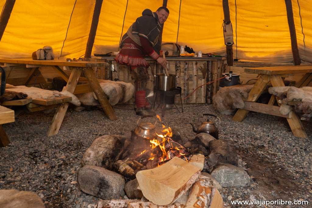 Visitando las comunidades Sami de la Noruega Ártica