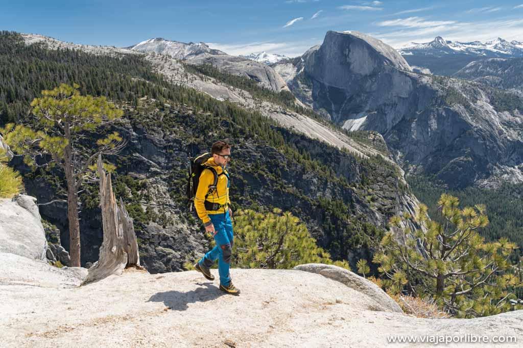 De ruta por Yosemite Falls Trail y Yosemite point