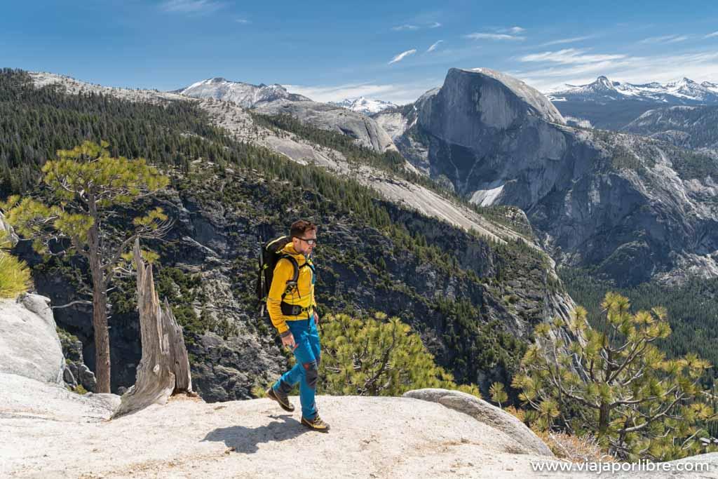 Rutas en Yosemite National Park - De ruta por Yosemite Falls Trail y Yosemite point