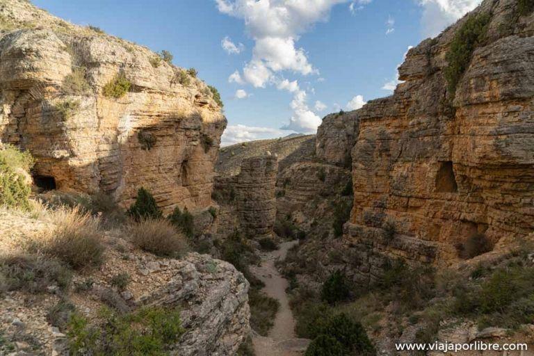 El acueducto romano de Gea de Albarracín