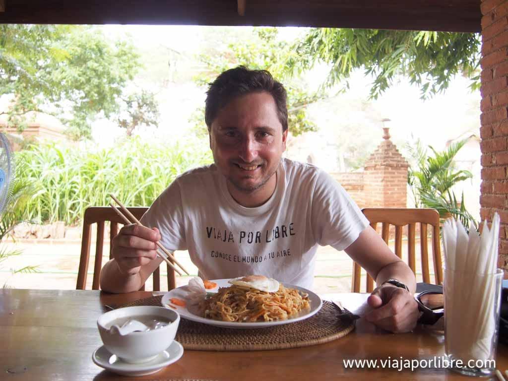 Comer en Myanmar