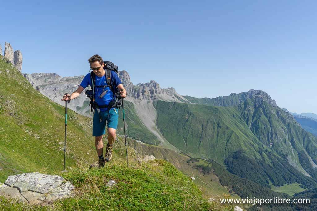 En los Pirineos