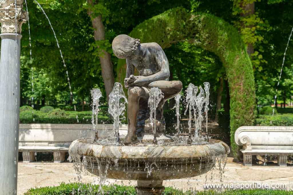 Aranjuez - Jardín de la isla