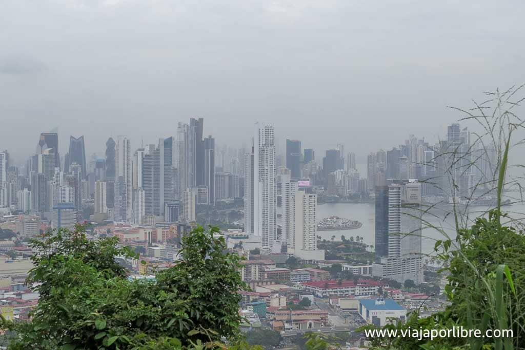 Vistas de la Ciudad de Panamá desde Metropolitano