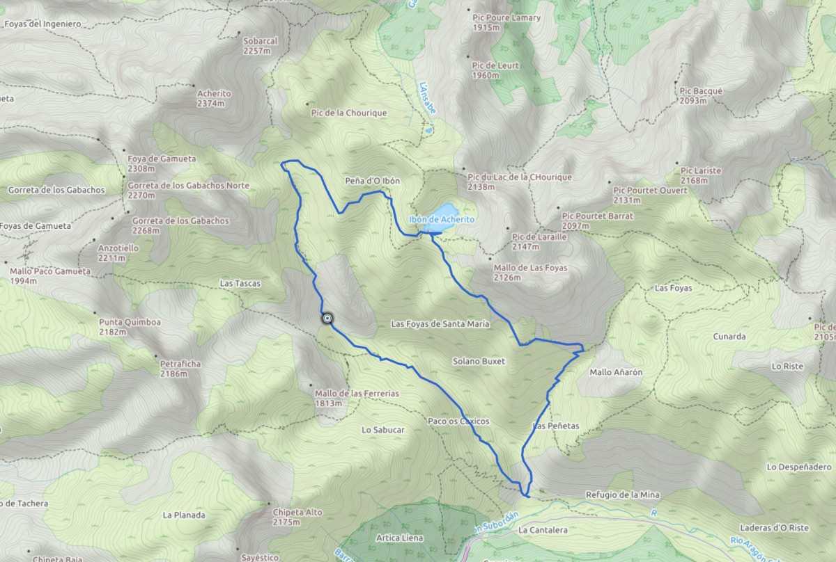 Ruta circular en Pirineos