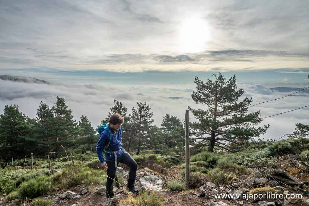 Hacia el Pico del Nevero