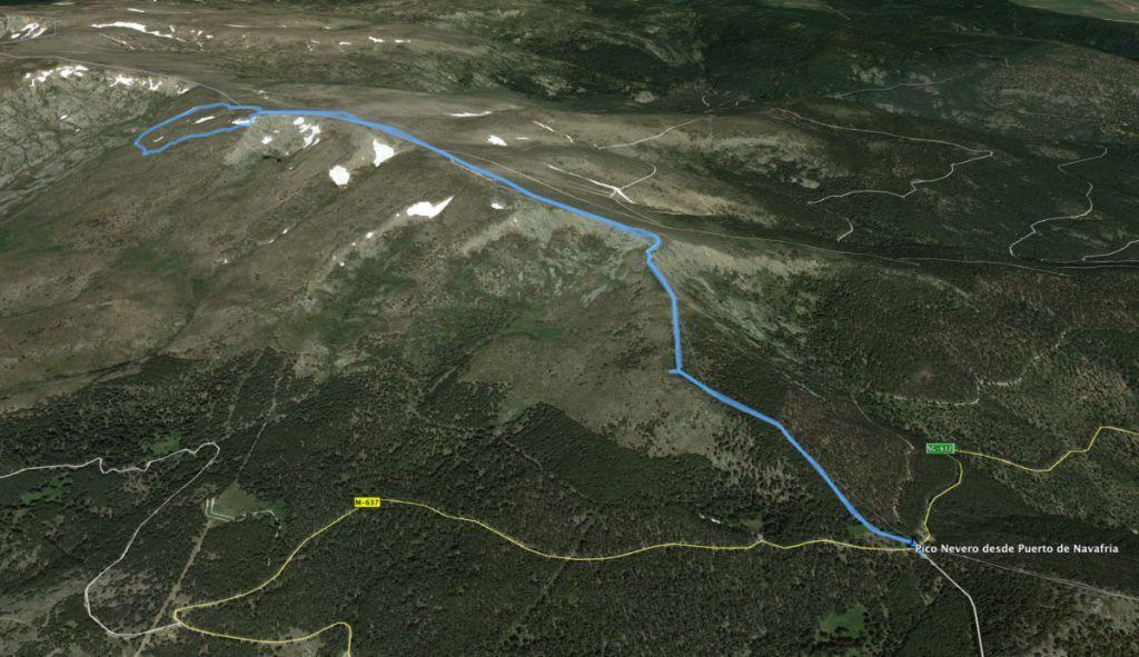 Ruta al Pico del Nevero