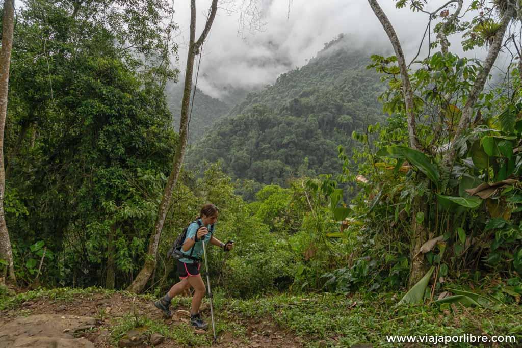 La espectacular ruta a la Ciudad Perdida de Colombia