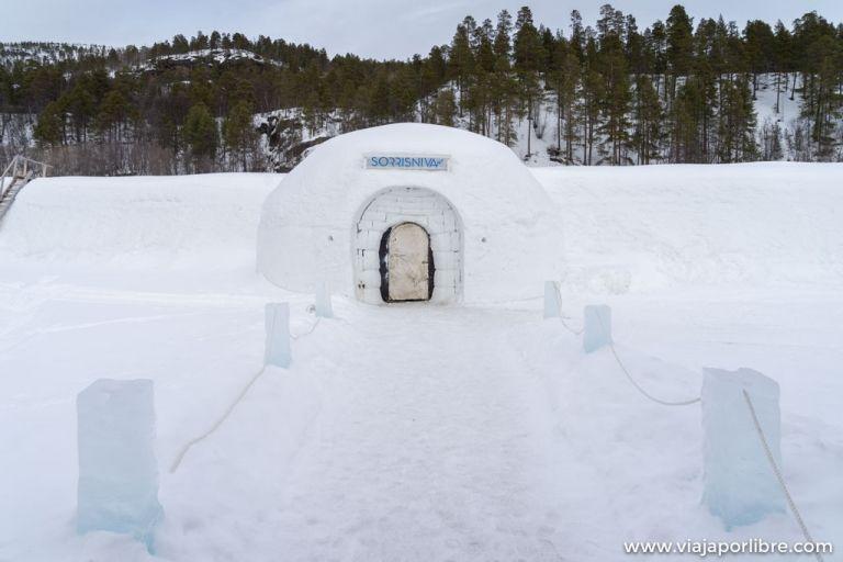 hoteles de hielo en la Laponia Noruega
