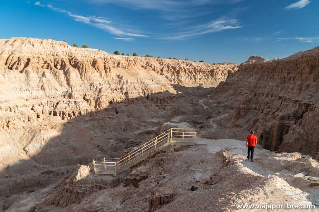 Cathedral Gorge, paisajes marcianos en el desierto de Nevada