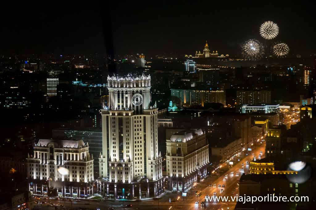 Moscú por la noche