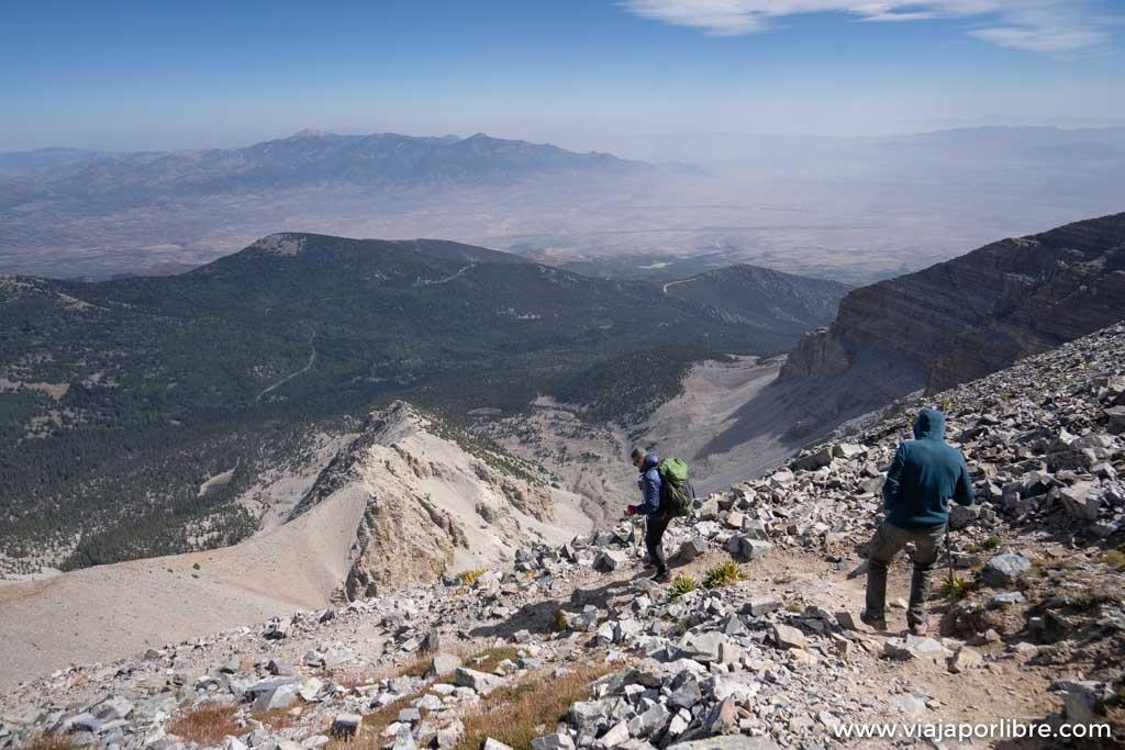 Trekking en Great Basin y el Wheeler Peak (Nevada, USA)