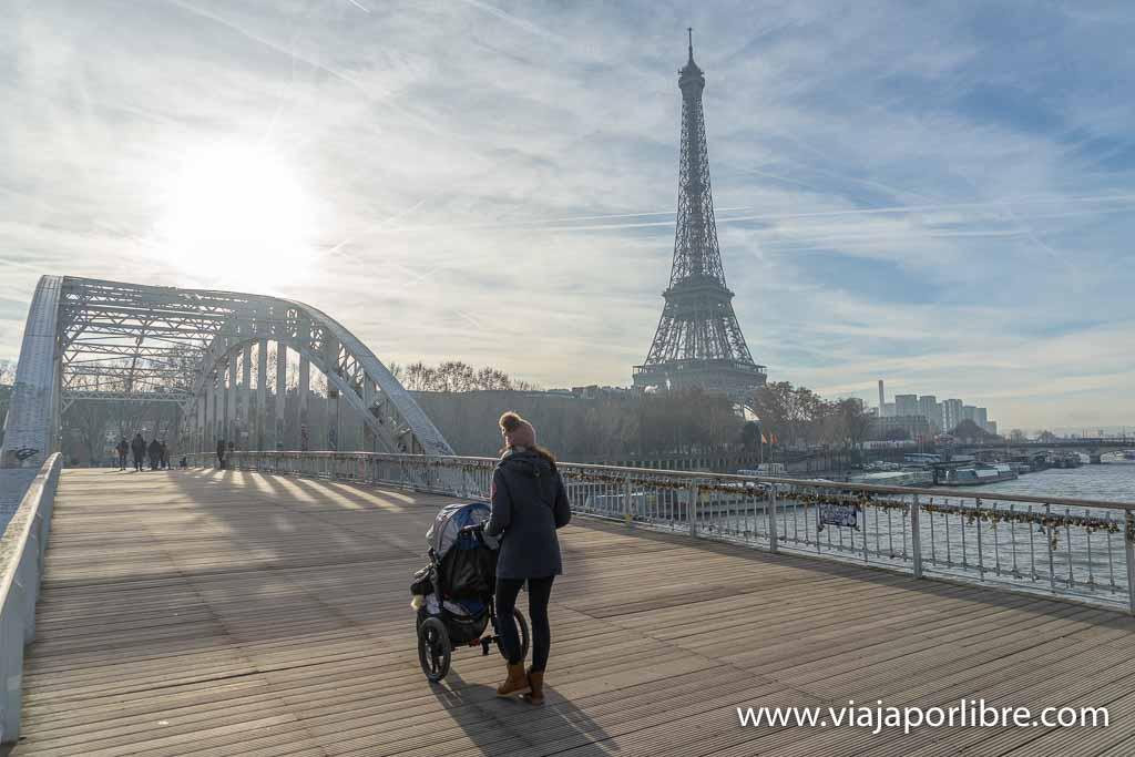 Paris con carrito