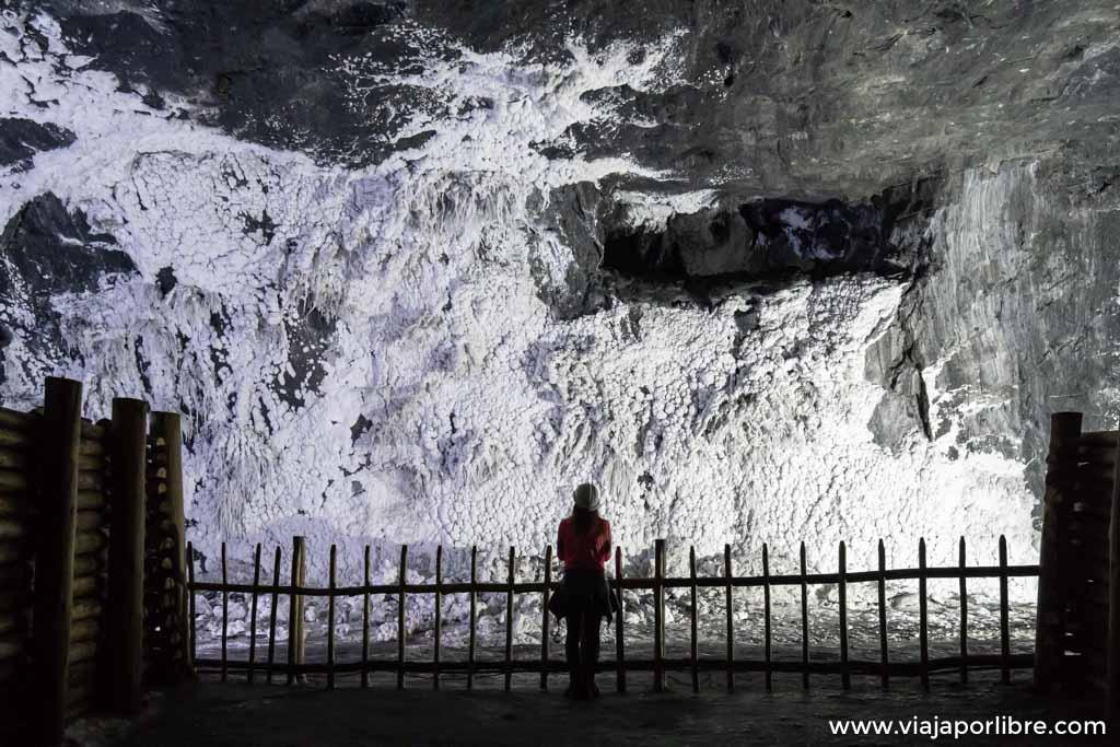 Visita a la mina de sal de Nemocón a las afueras de Bogotá