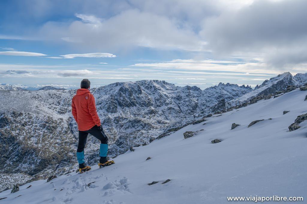 Ruta al Mogota del Cervunal en la Sierra de Gredos