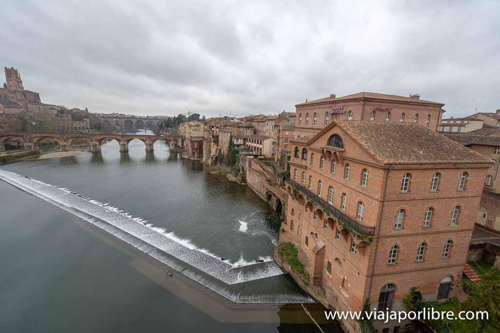 Vistas hacia el Pont Vieux