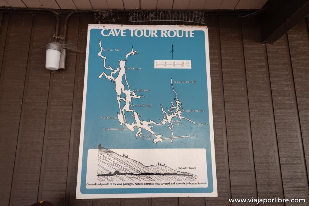 Cuevas de Lehman (Lehman Caves) en Great Basin national park